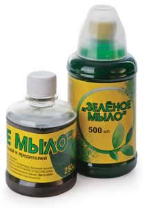 Зеленое мыло от паутинного клеща