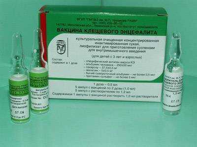 Сделать прививку от клещевого энцефалита
