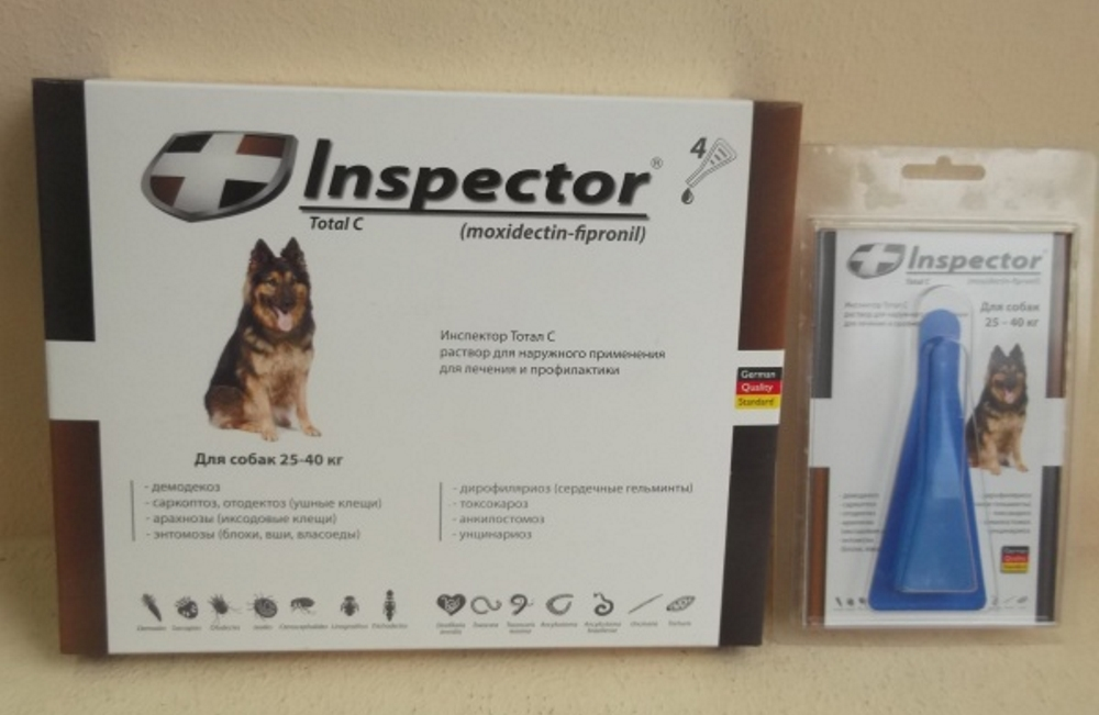 Инспектор от блох