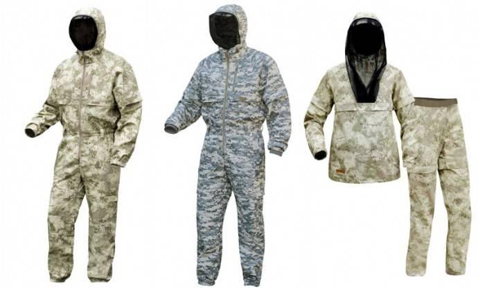 Примеры хороших костюмов против клещей, так называемые энцефалитки