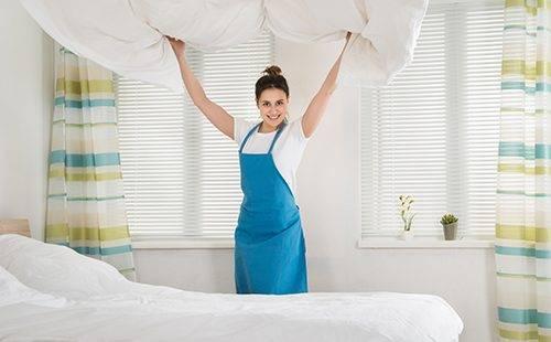 Перестилание постели