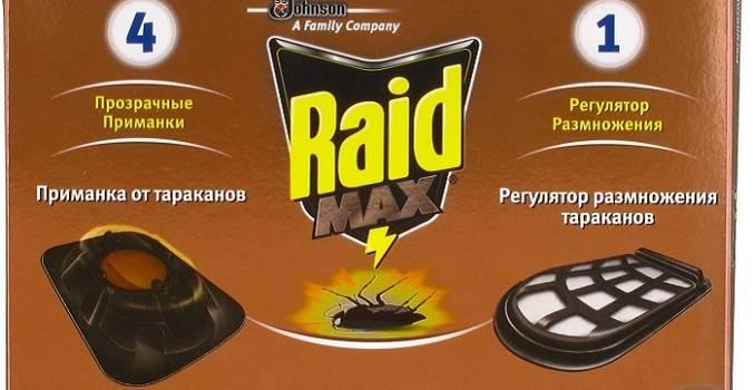 Raid средство от тараканов