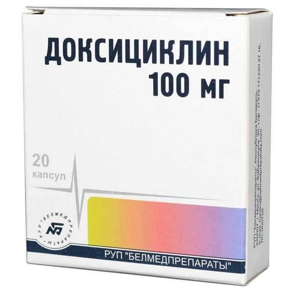 Доксициклин от клещей