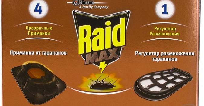 Ловушки рейд от тараканов
