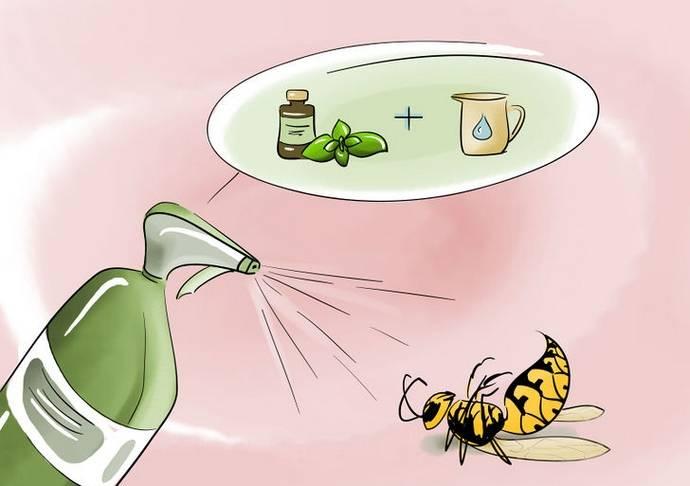 Средство от пчел на даче