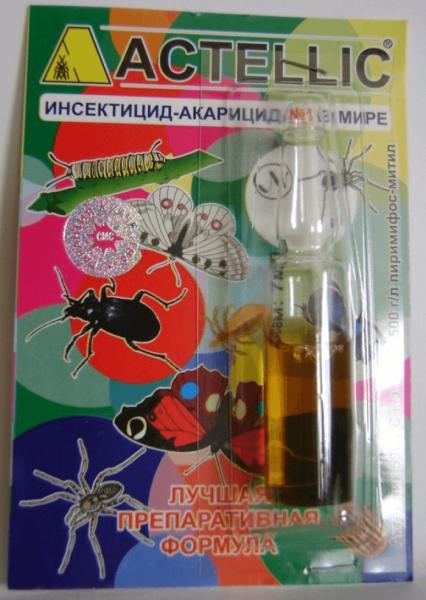 Препараты от клеща на растениях