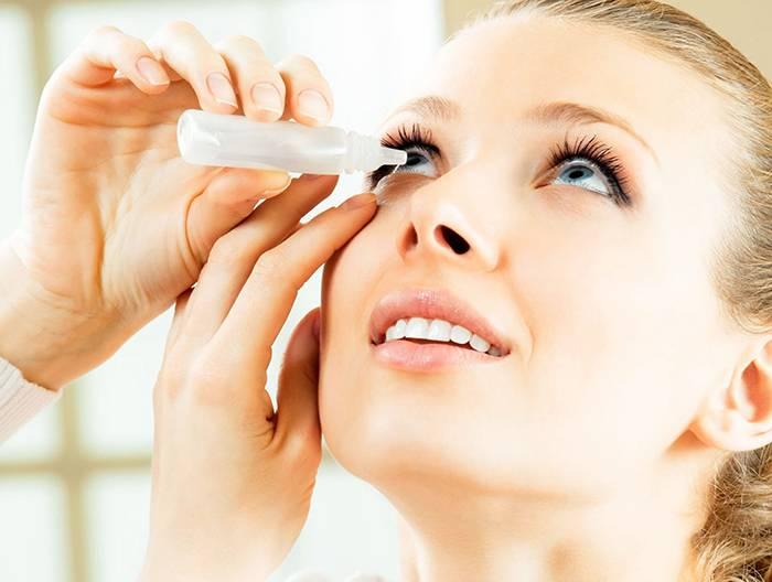 Клещи на ресницах глаз у человека