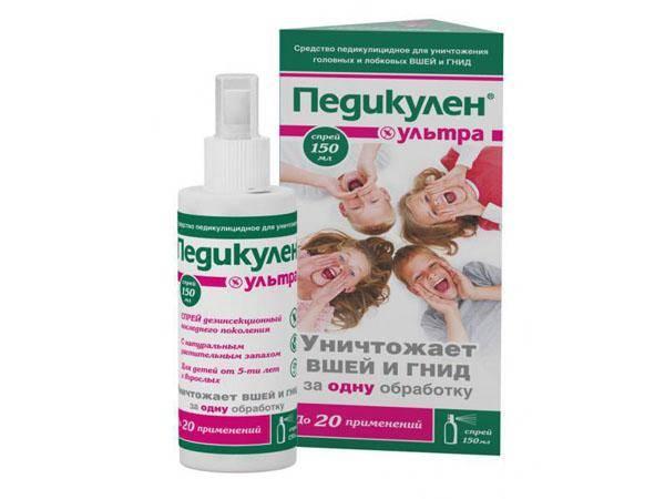 Шампунь для профилактики педикулеза у детей